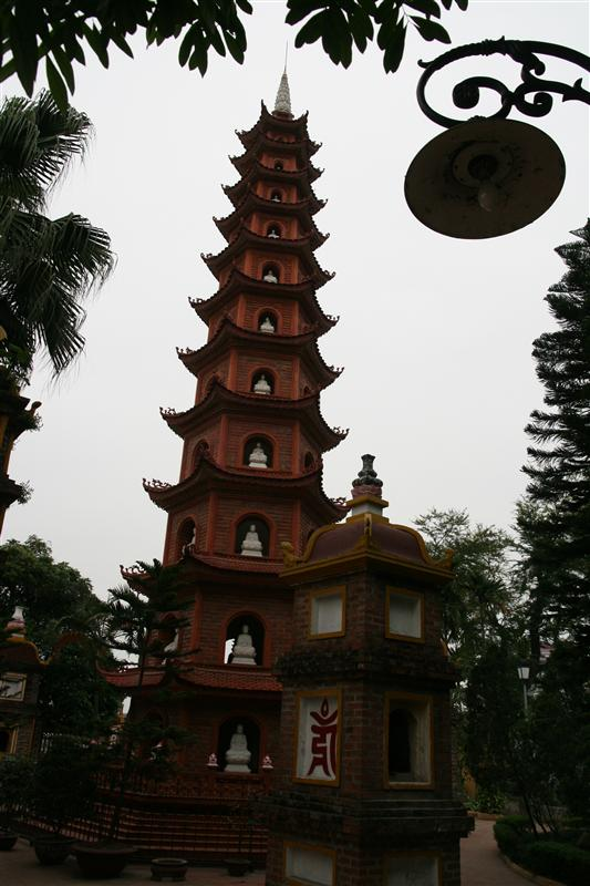 We stumbled upon this pagoda when out for a walk