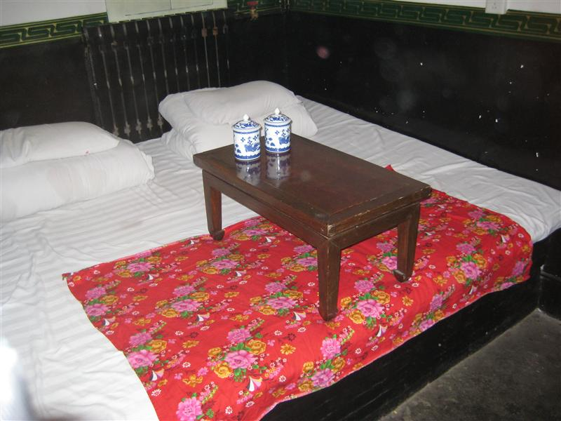 Traditional pingyao bed