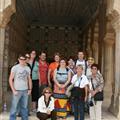 Our India group photo at Amber Fort