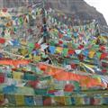 lots of prayer flags on the trek