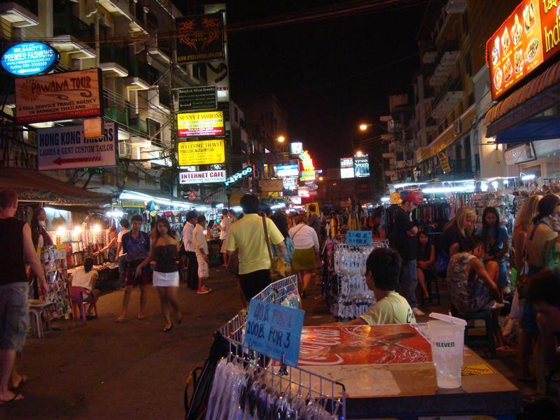 Khao Sarn Road - Bangkok