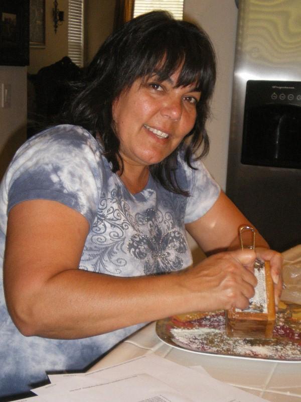 Mom granting the Italian Parmesan