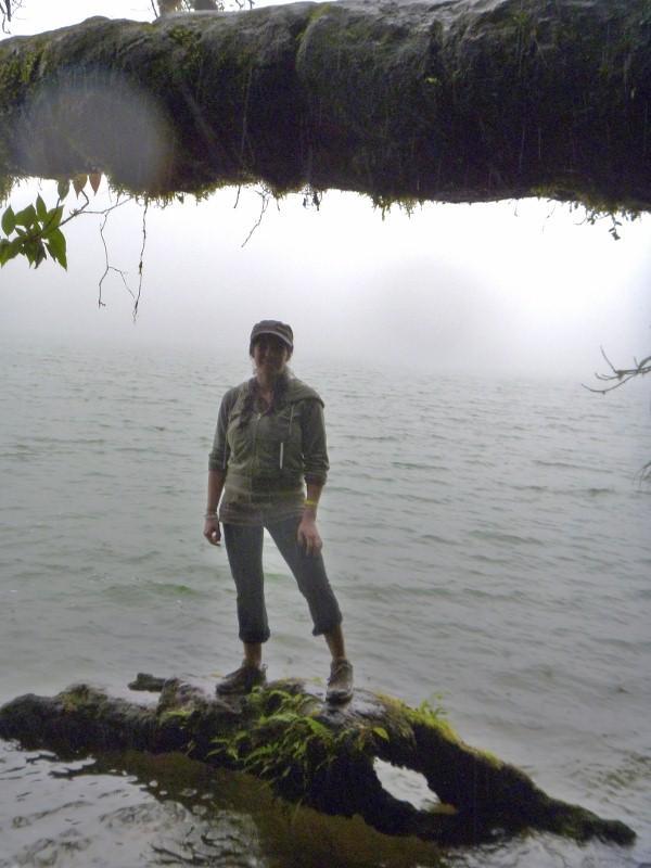 Debb at the lake