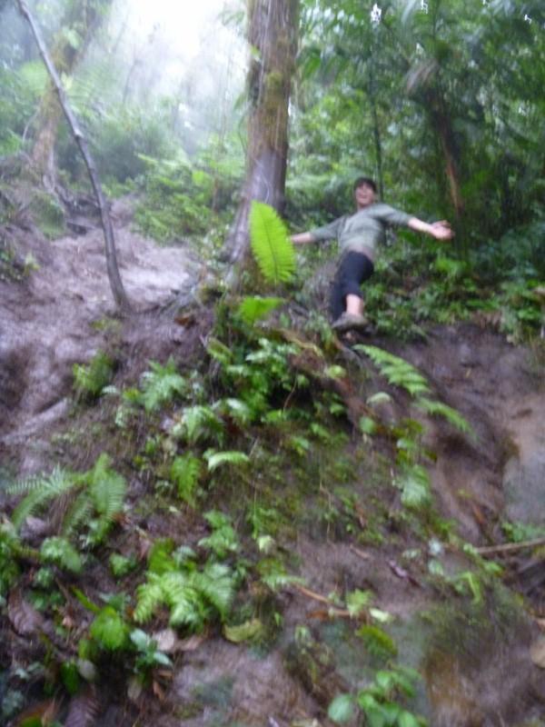 the last trail to Cerro Chato Lake
