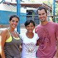 Me, Tatiana, Ryan....the girl we sponsored for High School