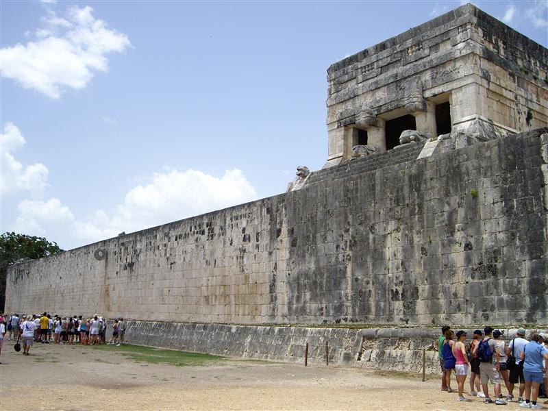 Campo de juego de pelota maya