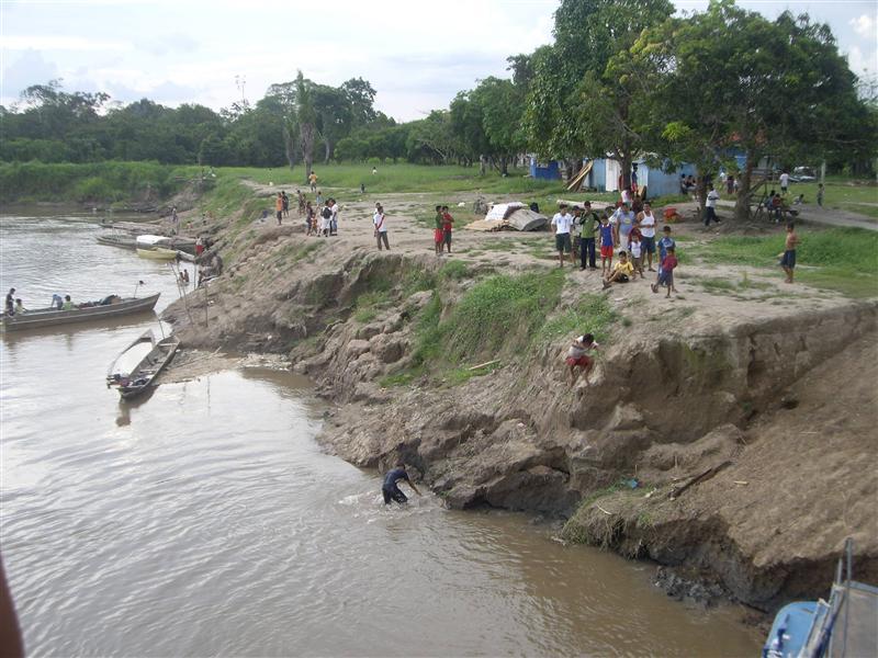 Salto al rio