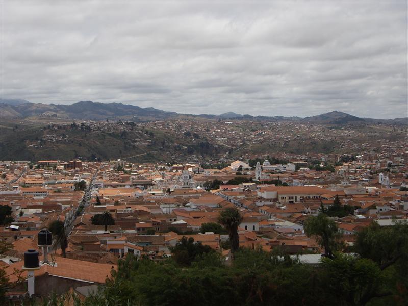 Vista de Sucre
