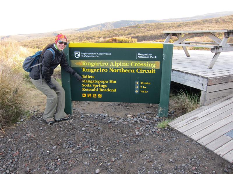 Photo from Tongariro National Park, New Zealand