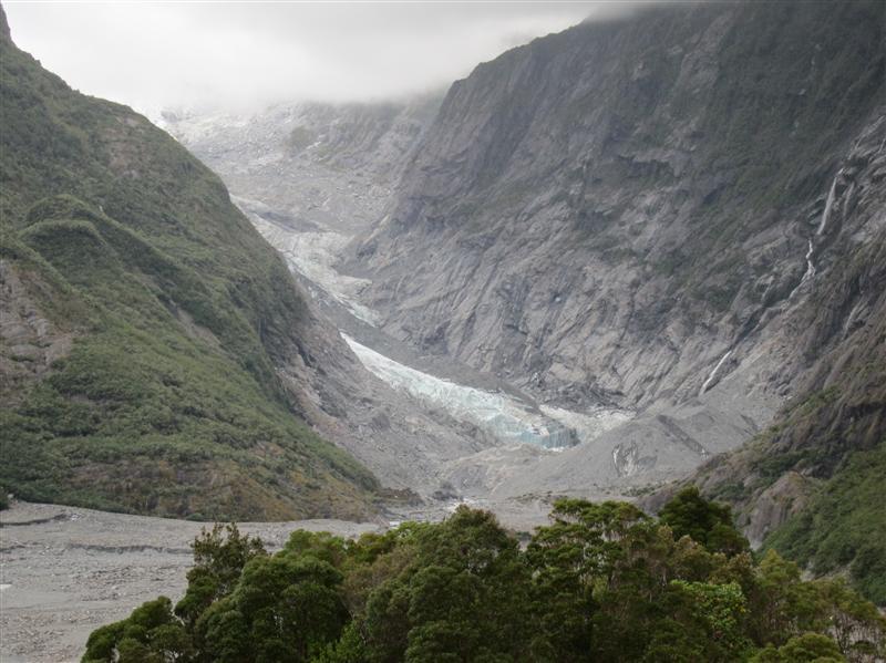 Photo from Franz Josef Glacier, New Zealand