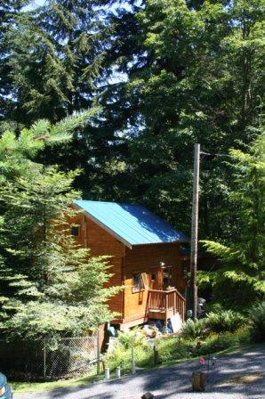 Cabin on Lummi Island