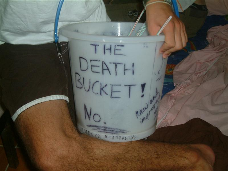 The infamous death bucket