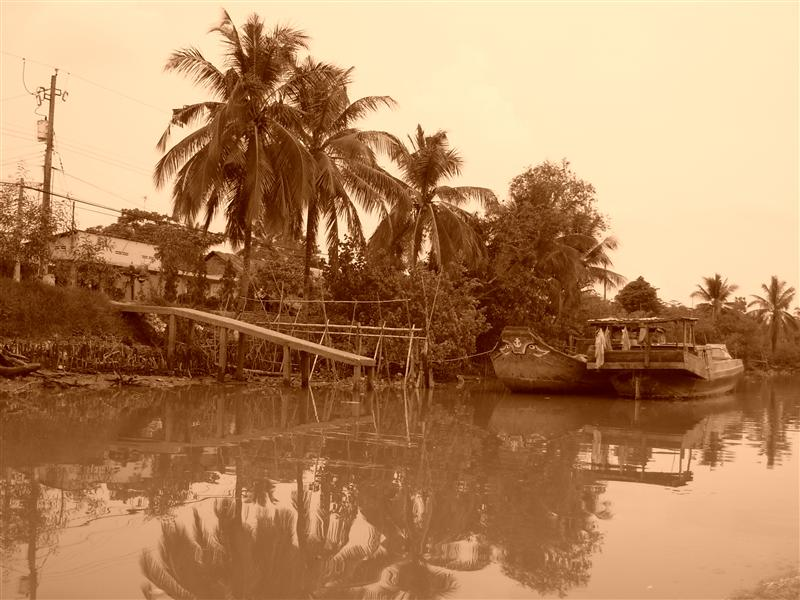 Boat Trip to the Mekong Delta
