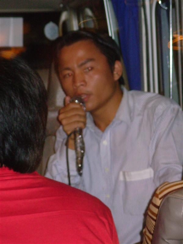 Our singing Vietnamese Tour Guide