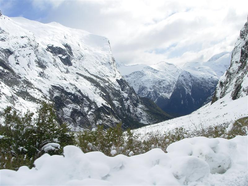 Snow in New Zealand