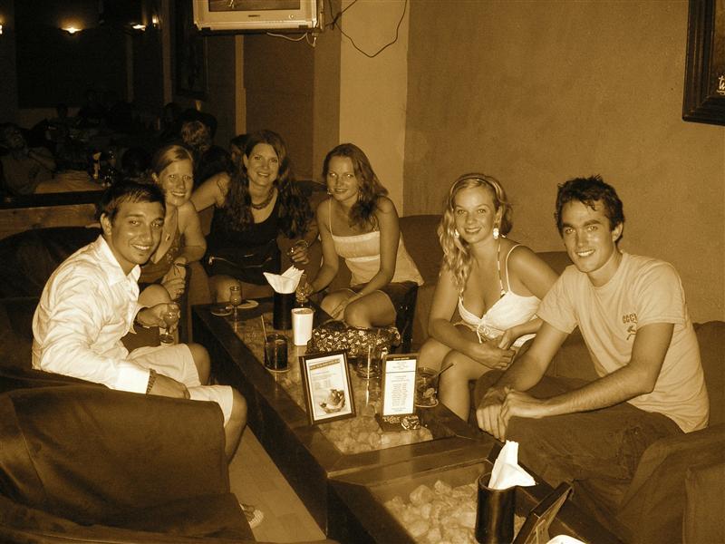 The crew in Guava