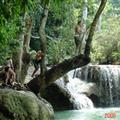 Waterfall at Luang Prabang