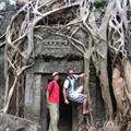 Patrick and Millsy in Angkor Wat