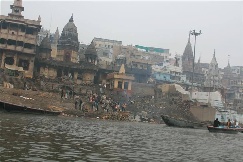 Cremation Ghat: Hindus believe that if their body is cremated and then submerged into the river it will be blessed