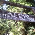 Entrance to the Muir Woods National Monument