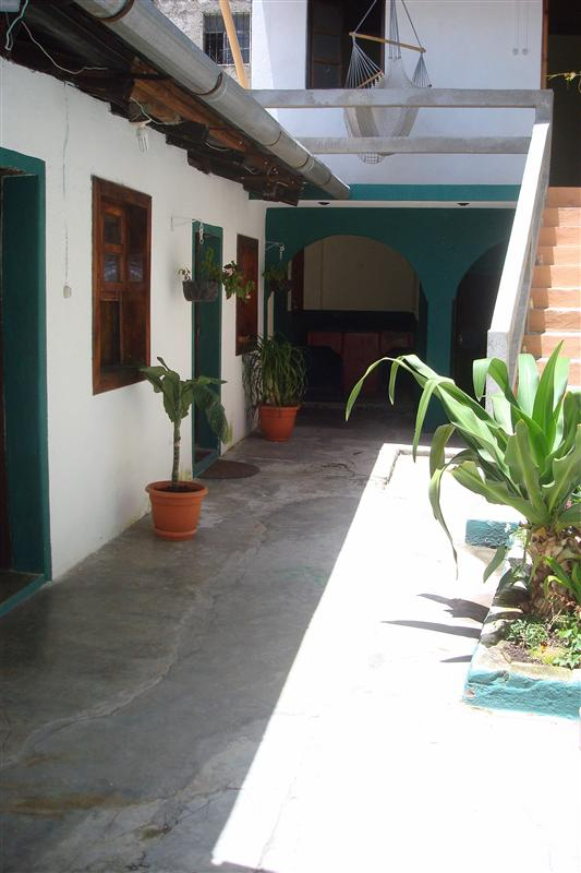 Another view of the patio