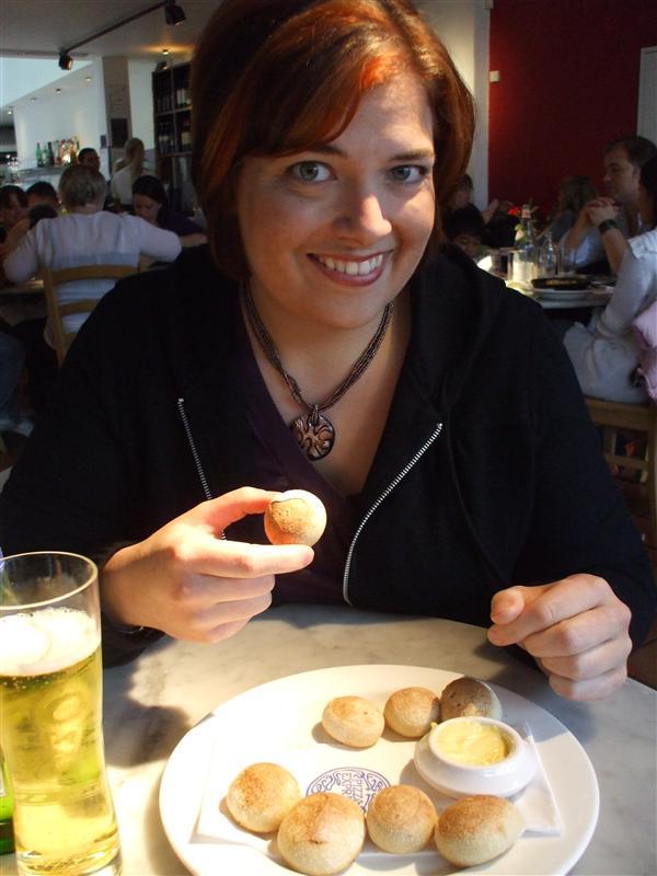 Mary Rose Eating Dough Balls