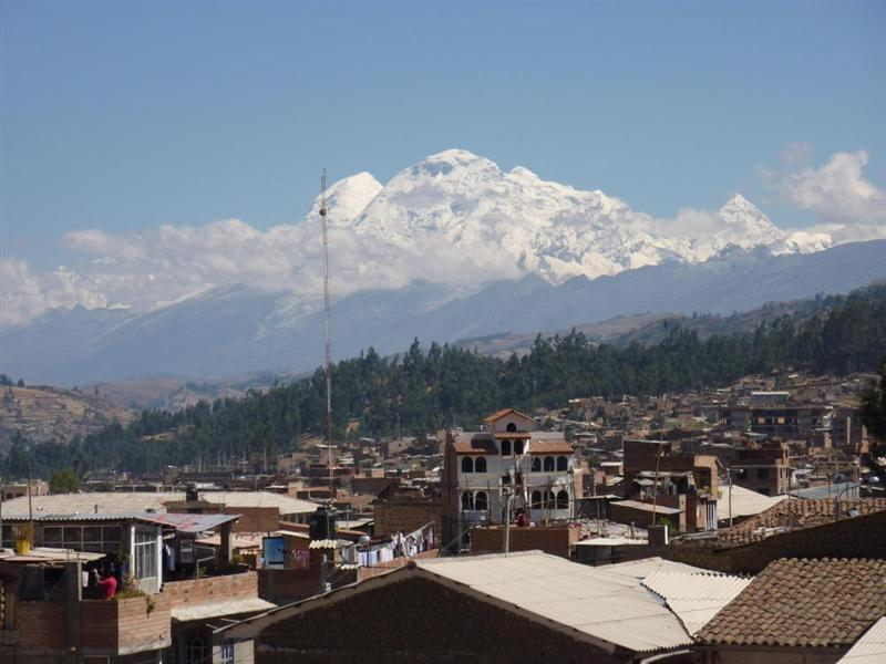 View from the hostel in Huaraz