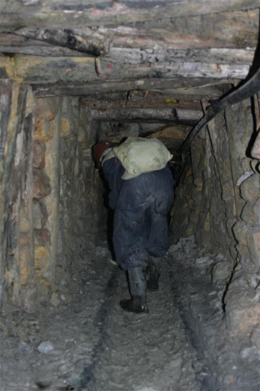 In der Mine
