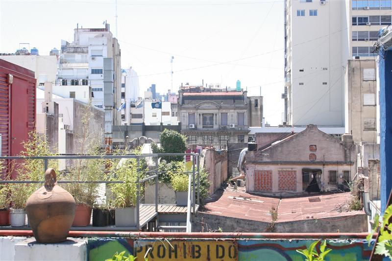 Ueber den Dachern von Buenos Aires