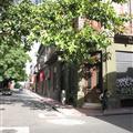 Strassenecke in Buenos Aires