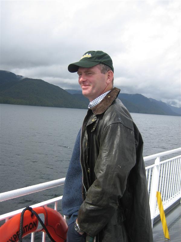 Robert on deck