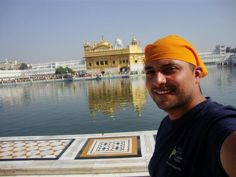 Me at the Golden Temple