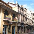 The buildings of Cuenca