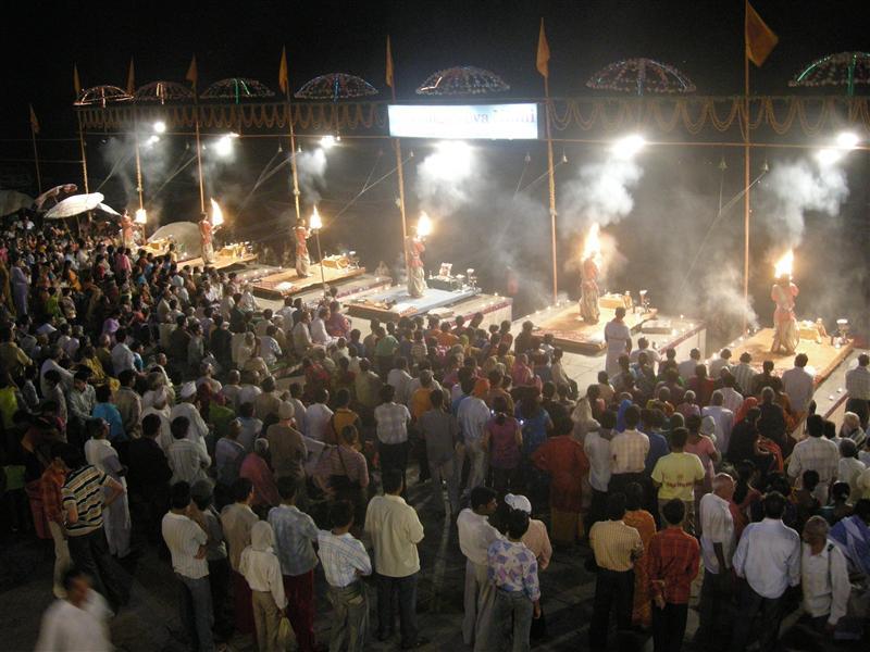 cremation ceremony in Varanasi