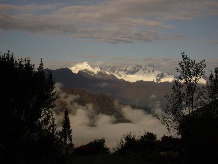 Andes at dawn