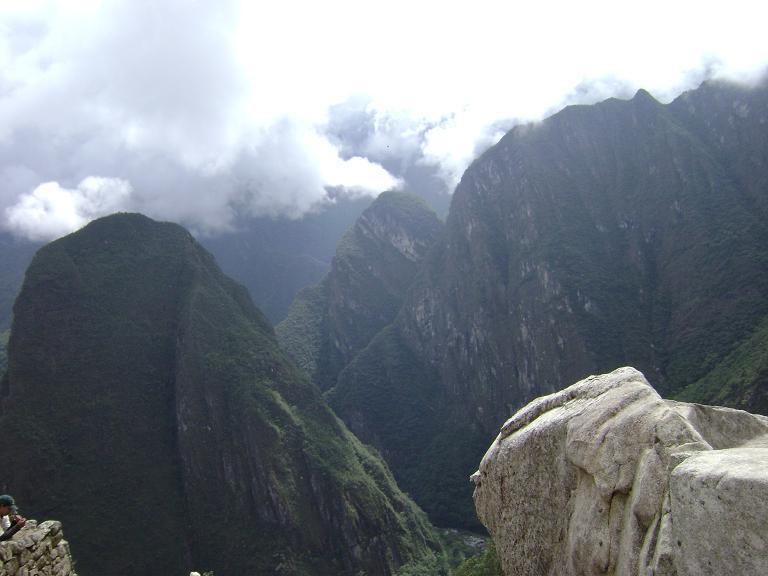 More hills around Machu Picchu