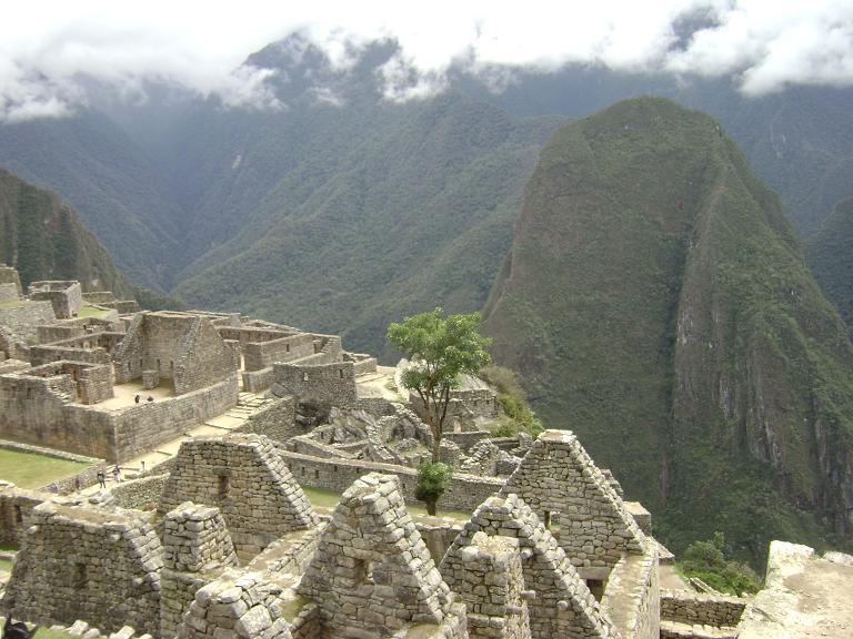 Recintos principales at Machu Picchu