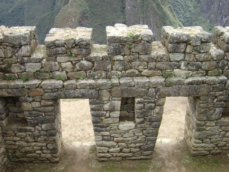 Jack-o-lantern view from Machu Picchu