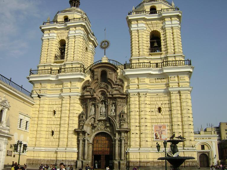 San Francisco Monistary in Lima