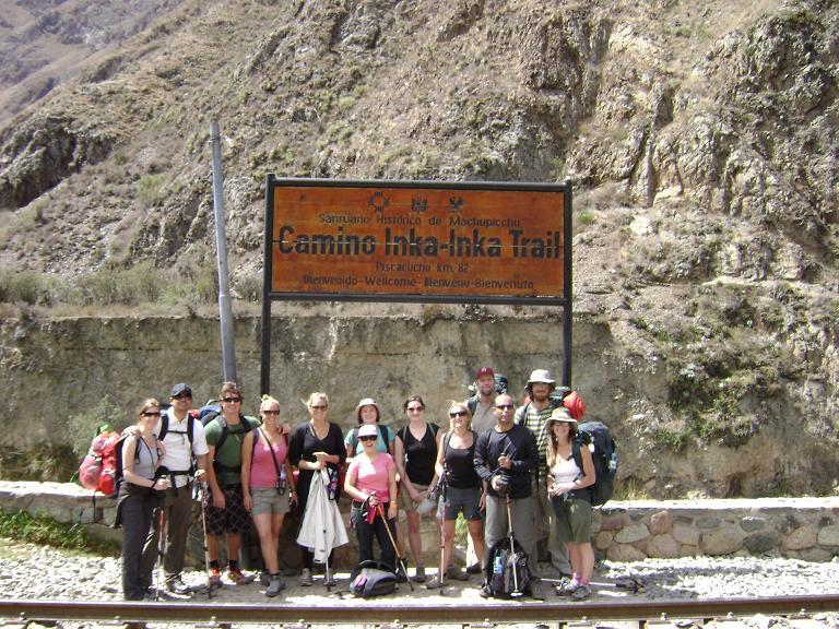 Start of Inca Trail