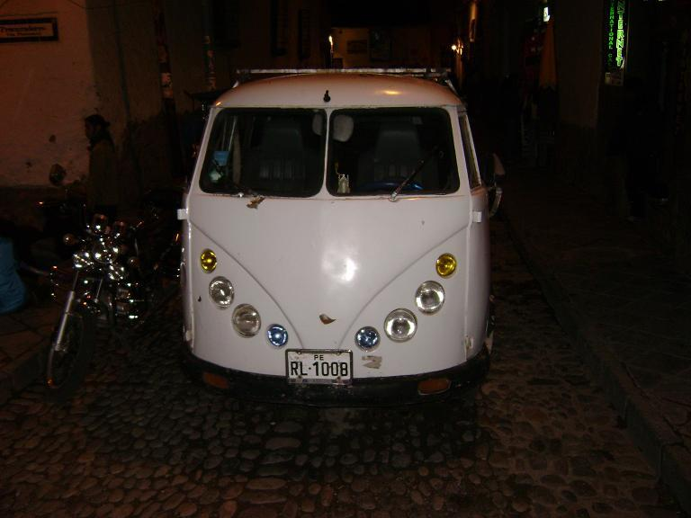 Spider-esque VW in Cusco