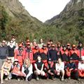 Inca Trail - campers, porters and guides