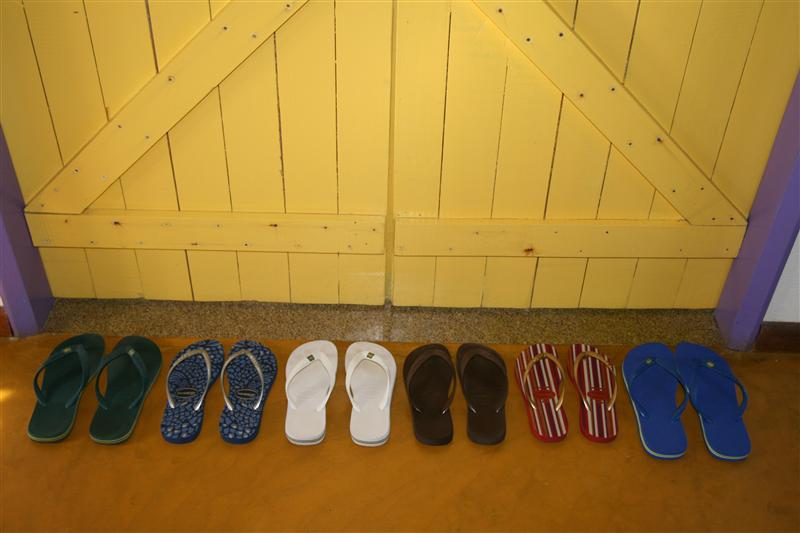 One havaiana, two havaiana, three havaiana more!