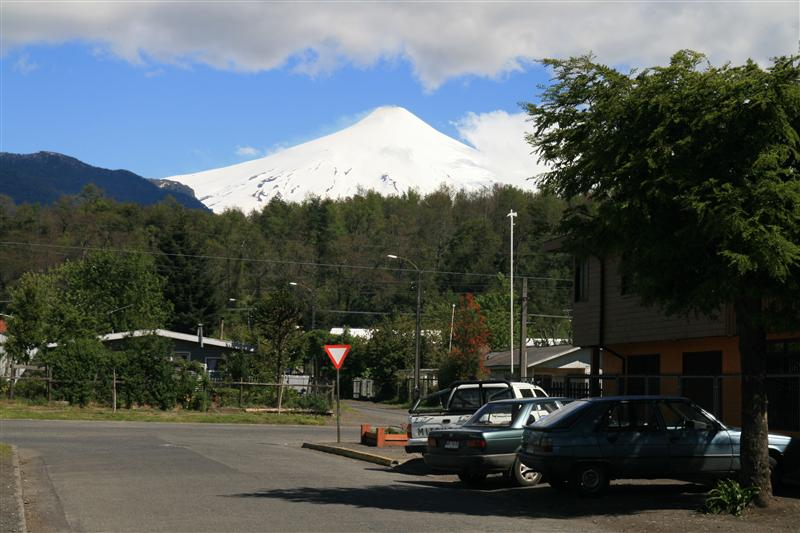 Volcan Villarica from Pucon