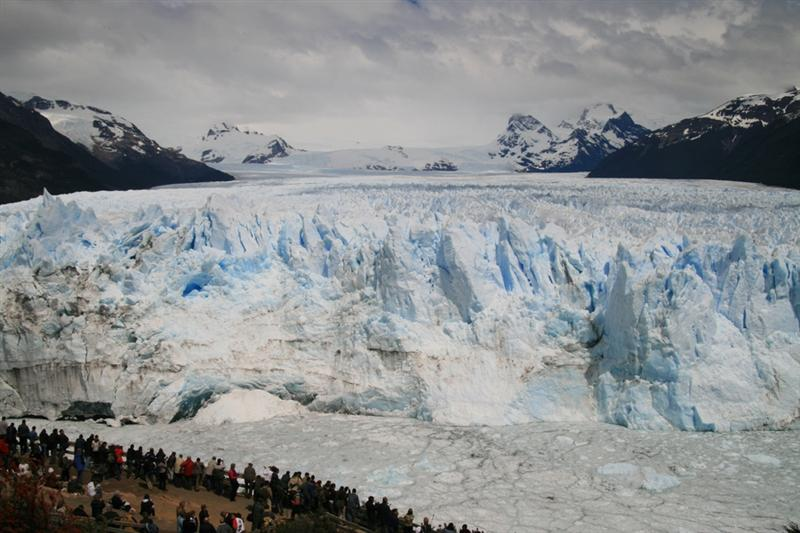 The face of the Glacier
