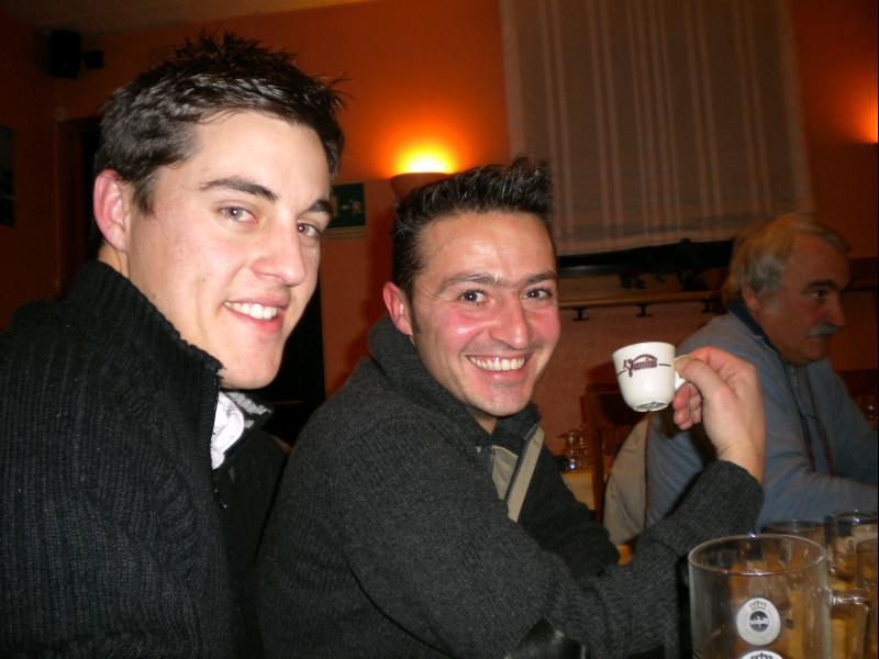 Craig and Luca