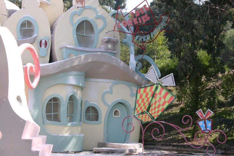 The Grinch that stole christmas set at Universal Studios