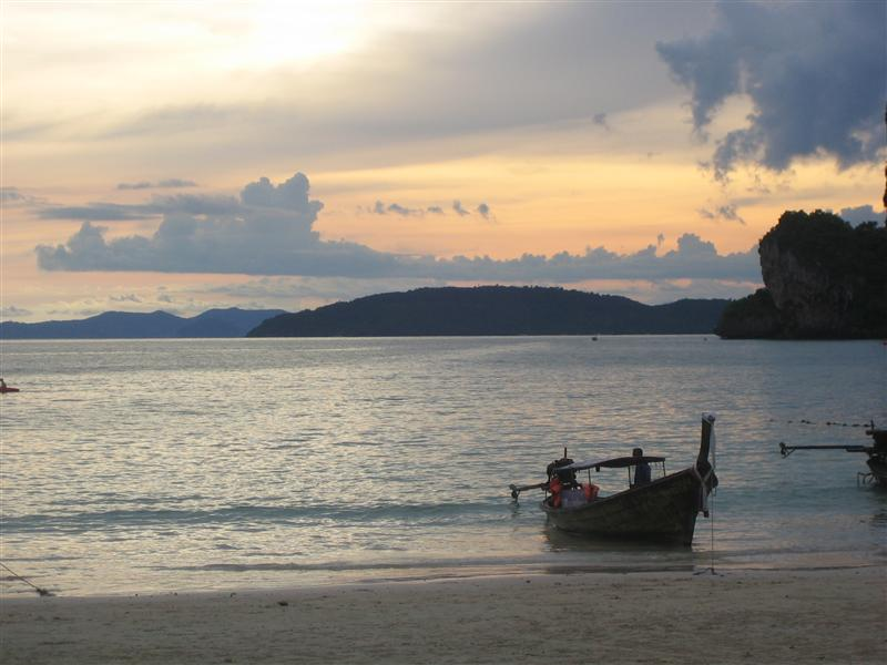 View from West Railay Beach